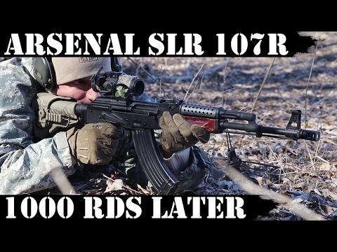 New Arsenal: SLR107R (SLR107-11) 1000rds Later!