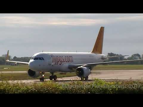 Plane Spotting At (CPH) Copenhagen Airport On The 21/09/2017