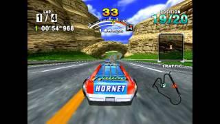 Daytona USA- Console comparison- Saturn, Dreamcast, XBOX 360- HD