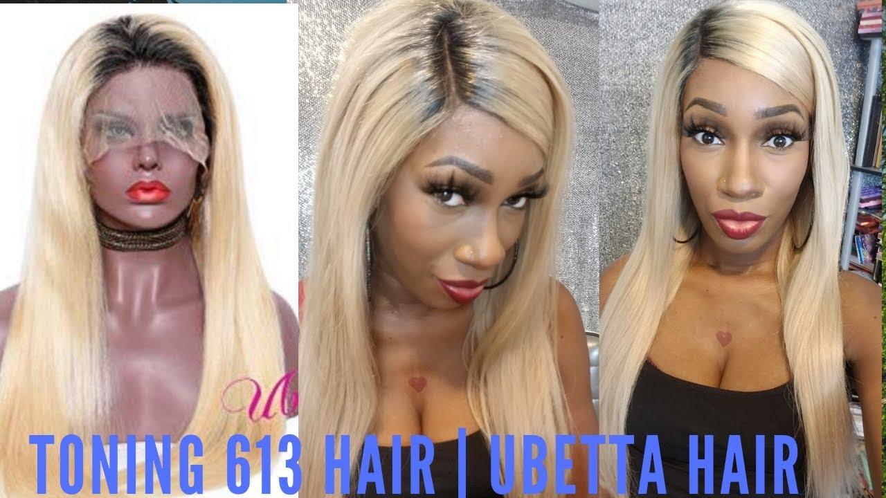 Toning 613 Hair Ash Blondebeige Blonde Tutorial Wella Charm Toner T15 And T18 Ubetta Hair