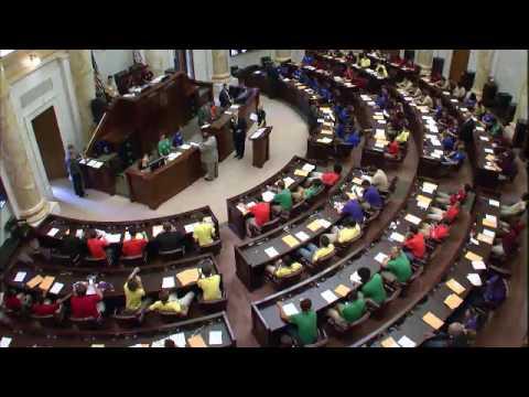 Arkansas Boys State 2017 House of Representatives Sessions