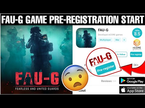 How To Download FAU-G Game   FAU-G Game Pre-Registration Start.   FAU-G BETA PRE-REGISTRATION START