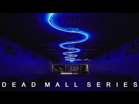 DEAD MALL SERIES : NEON DREAMS : SURREAL NIGHT TOUR OF AN ABANDONED MALL