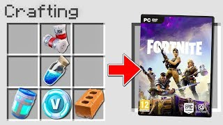 Minecraft Eng-FORTNITE COMES to MINECRAFT!!