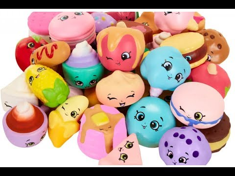 Squish Delish Characters : Shopkins Squish-Dee-Lish!!! - YouTube