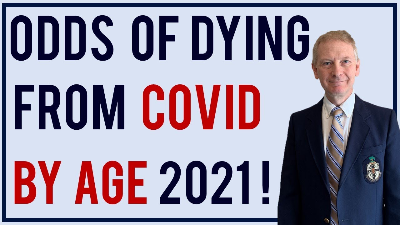 COVID Deaths | Odds of dying and hospitalization from COVID 2021
