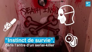 """""""Instinct de survie"""", l'escape game qui nous plonge dans l'antre d'un serial-killer"""