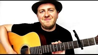 """Full guitar tutorial for """"Back For Good"""" by Take That. This easy le..."""