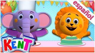 Kent el elefante | Canciones infantiles animadas | 1, 2, 3 Hagamos un PASTEL
