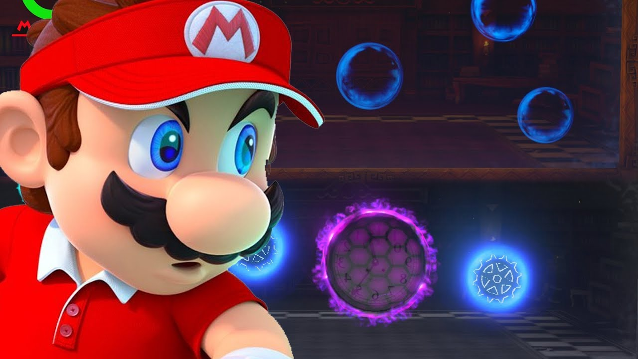 Mario Tennis Aces How To Beat The Mirror Reflection Room
