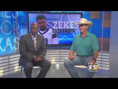 Former Cowboys TE Jay Novacek Reacts To Elliott Suspension
