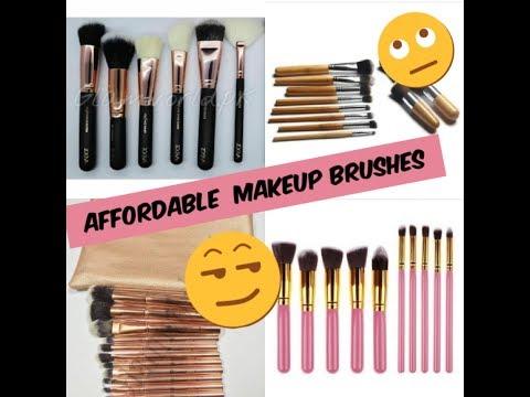 Affordable Makeup Brushes / Bh Cosmetic / Dior  Review in urdu/hindi