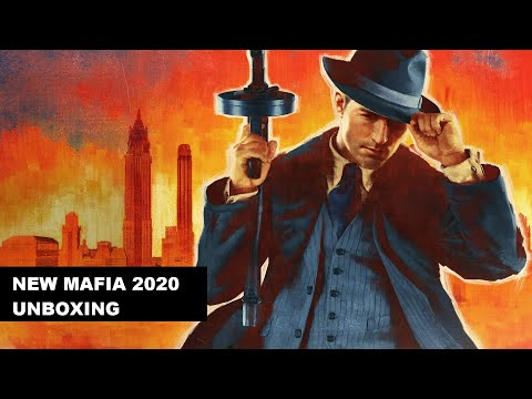 Mafia - Definitive edition - Unboxing + Gaming! |