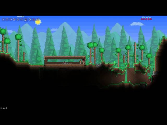 Lets Play Terraria - Ep.2 - I am buggy