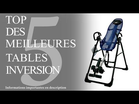 Top 5 -  Meilleure Table Inversion (Avis Et Comparatif 2019)
