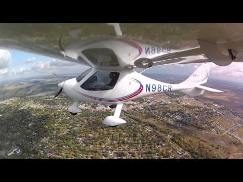 Stanton Airfield to St Paul Downtown airport