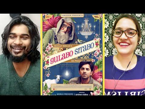 GULABO SITABO Trailer REACTION | Amitabh Bachchan, Ayushmann Khurrana | SWAB REACTIONS  AMAZON PRIME