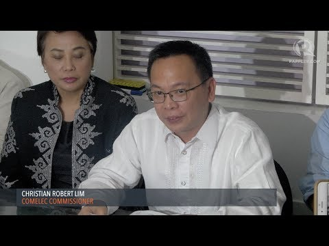 Comelec commissioners say Bautista should take a leave or quit