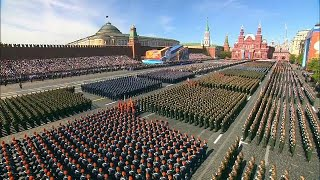 Russia showcases hypersonic missile and robo-tank during Victory Day Parade