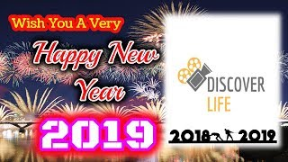 Wish You A Happy New Year From Discover Life  New Year Poetry  #2019