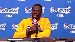 "Draymond Green Goes off on Reporter ""GREEN ON FLOODS"""