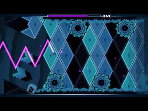 Geometry Dash - Sonic Wave XII (100%) ~ Weird Unrated Easy NC Demon by HiloNubs