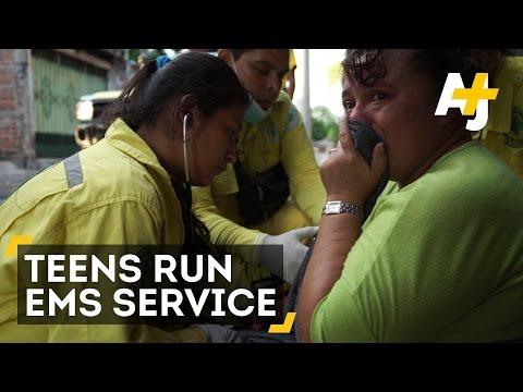 The Teenage Salvation Commandos Of El Salvador