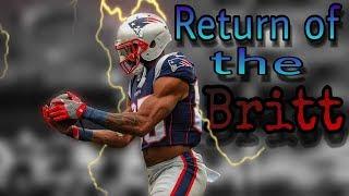 Patriots WR Kenny Britt returns from injury