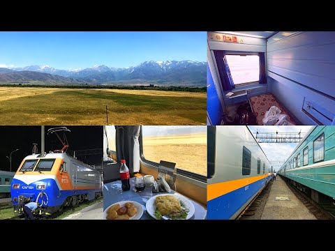 Germany to Kazakhstan by Rail - part 8: Shymkent - Almaty on the Turksib in Talgo Sleeping Car