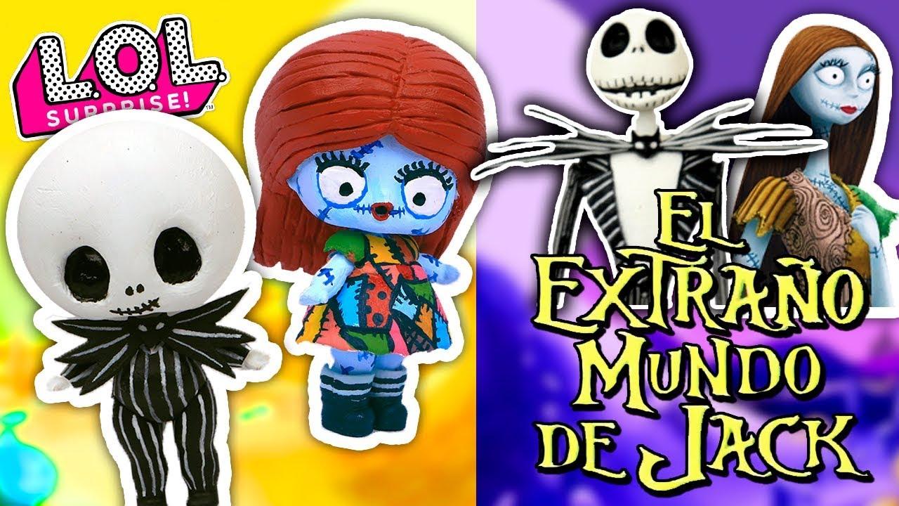 8b40c7ed19b EL EXTRAÑO MUNDO DE JACK y Sally 🎅 en Muñecas LOL SORPRESA Juguetes y  Transformaciones Fantásticas