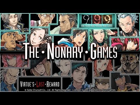 Zero Escape: The Nonary Games - 999 Playthrough Part 1 [PS4]