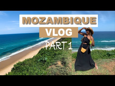 MOZAMBIQUE HOLIDAY VLOG (part 1) | Sky Island Resort in Ponta Malongoane | Lunch and sight-seeing