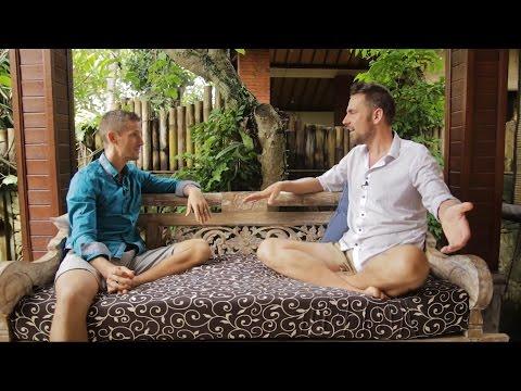 Patrick Woodcraft interviews Simon Jongenotter - Bali Eco Legend