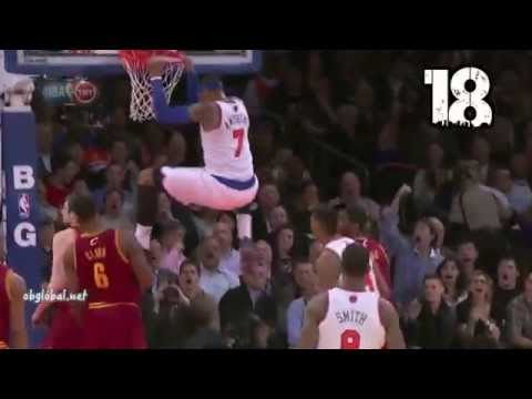 New York Knicks: Top 20 Dunks 2013-2014