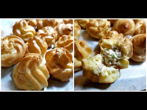 Trini Chicken Puffs