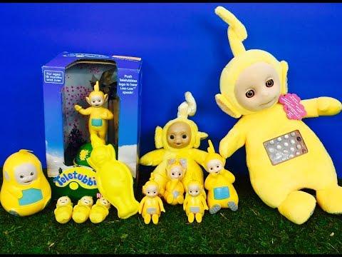 LAA-LAA TELETUBBIES Toy Collection!