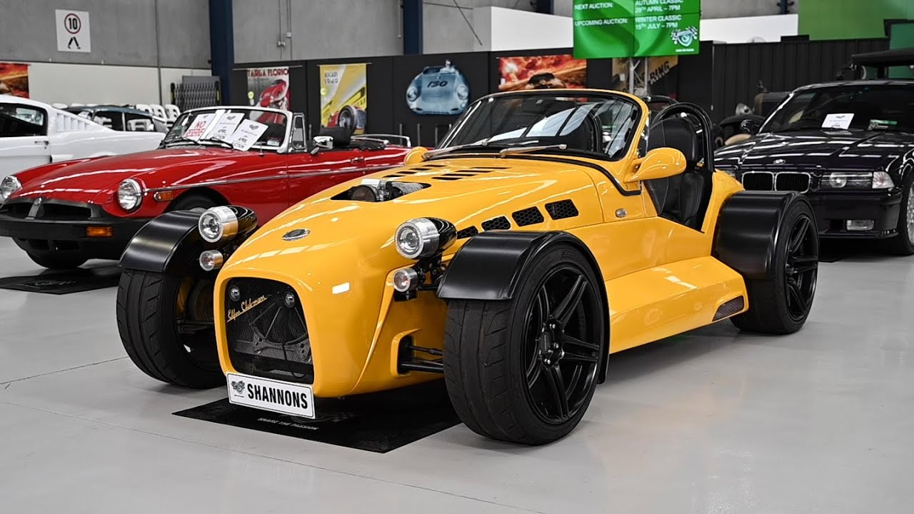2007 Elfin MS8 'Supercharged' Clubman - 2019 Shannons Melbourne Autumn Auction