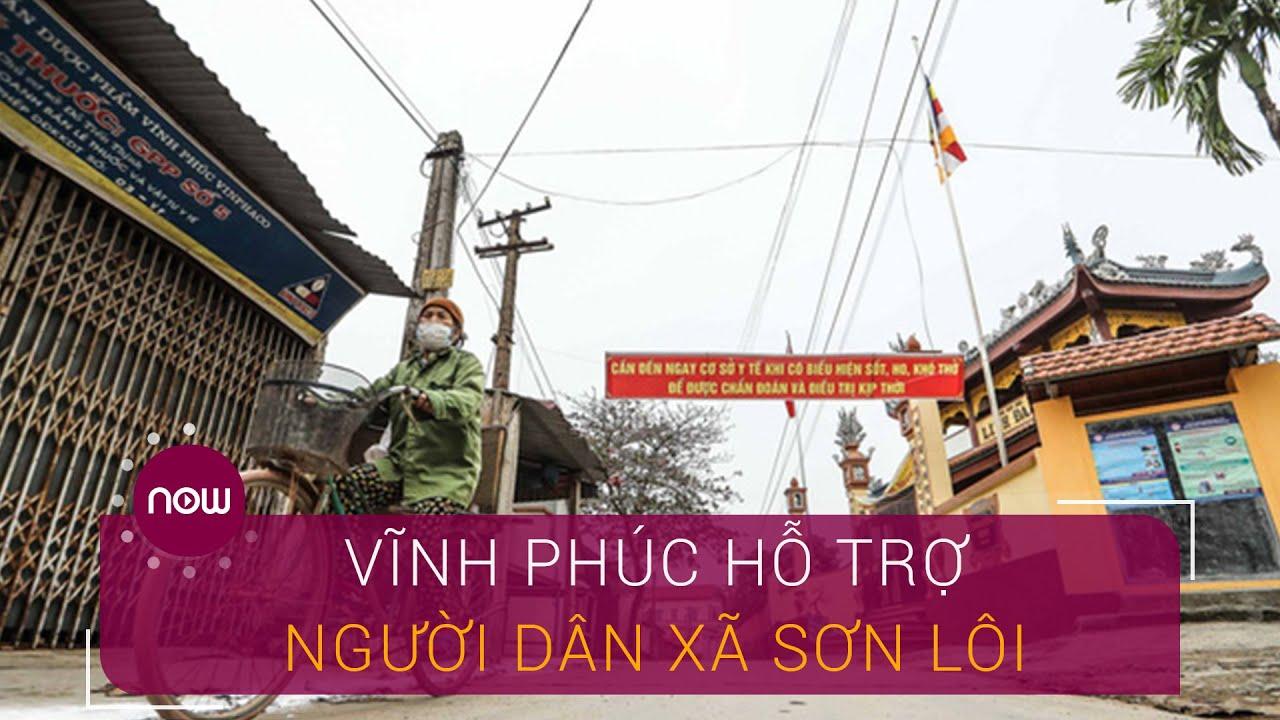 Vĩnh Phúc hỗ trợ tiền cho người dân xã Sơn Lôi | VTC Now