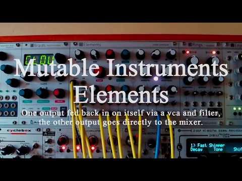 Mutable Instruments - Elements: Dark Orchestra [vs Edges & Akemie's Taiko]