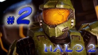 Halo 2 Anniversary - Walkthrough Part 2 [Mission 4: OUTSKIRTS]