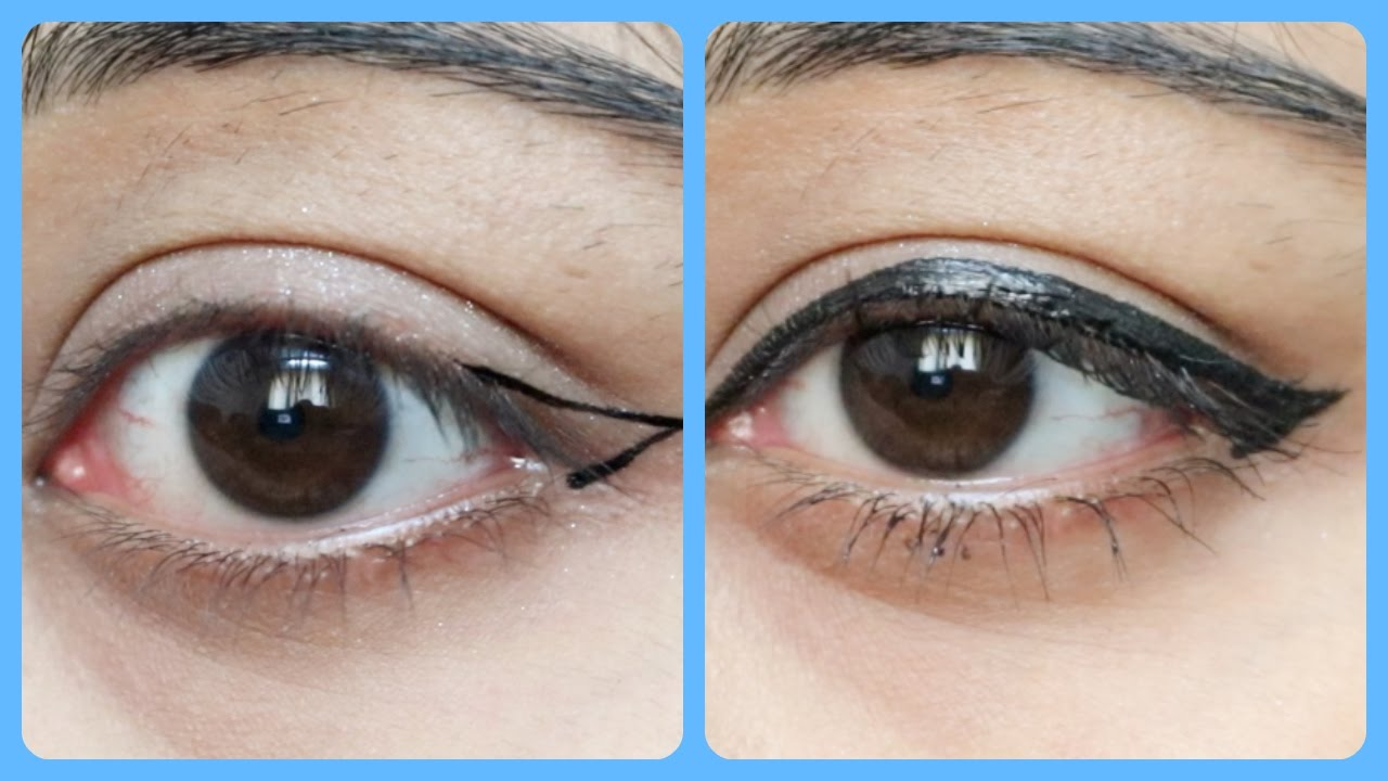 How to apply eyeliner perfectly step by step for beginners