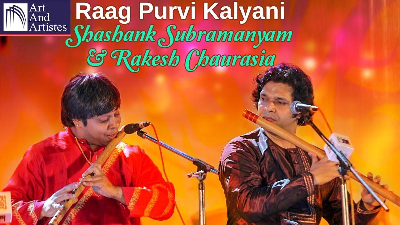 Shashank Subramanyam | Raag Purvi Kalyani | Rakesh Chaurasia | Flute | Carnatic Classical