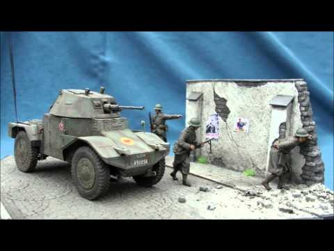 """Industrial Park"" France 1940 diorama in 1/35 scale"