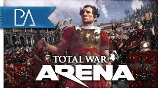 HAIL CAESAR: Playing Support - Caesar - Total War: Arena Gameplay