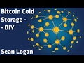 How To Make A DIY Cold Storage Bitcoin Wallet - YouTube