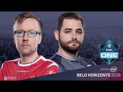 CS:GO - mousesports vs. SK [Train] Map 2 - Semifinal - ESL One Belo Horizonte 2018