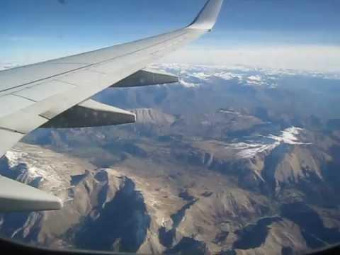 Passenger view Boeing 737 800 MIR-LYS