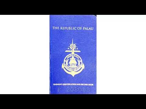 PALAU CDC HOW  TO GET PALAU CDC/SEAMAN BOOK