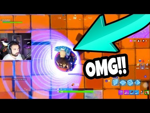 Fortnite - WHAT HAPPENS WHEN THE STORM CLOSES 100% ..