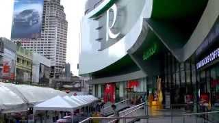 2017 曼谷自由行- BTS Saphan Taksin空鐵站步行到Lebua at ...